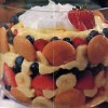 Easy Holiday Dessert Recipe, Banana-Berry Trifle