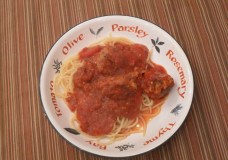 My Take on Spaghetti and Meatballs