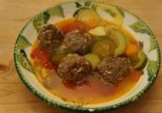 Mexican Meatball Soup, Albondigas